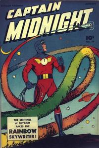 Cover Thumbnail for Captain Midnight (Fawcett, 1942 series) #59