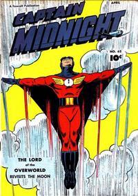 Cover Thumbnail for Captain Midnight (Fawcett, 1942 series) #62