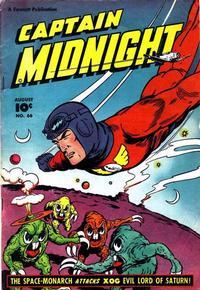 Cover Thumbnail for Captain Midnight (Fawcett, 1942 series) #66