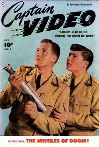 Cover Thumbnail for Captain Video (Fawcett, 1951 series) #5
