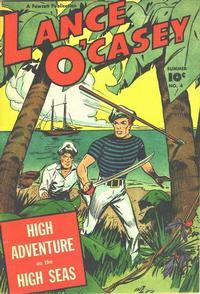Cover Thumbnail for Lance O'Casey (Fawcett, 1946 series) #4