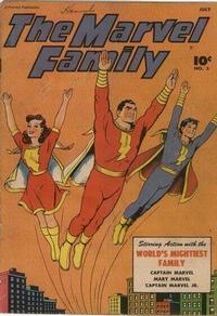 Cover Thumbnail for The Marvel Family (Fawcett, 1945 series) #3