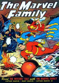 Cover Thumbnail for The Marvel Family (Fawcett, 1945 series) #4