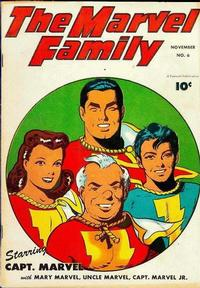 Cover Thumbnail for The Marvel Family (Fawcett, 1945 series) #6