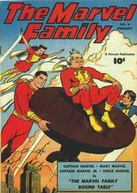 Cover Thumbnail for The Marvel Family (Fawcett, 1945 series) #8