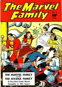 Cover Thumbnail for The Marvel Family (Fawcett, 1945 series) #10