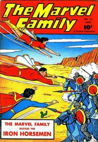 Cover Thumbnail for The Marvel Family (Fawcett, 1945 series) #12