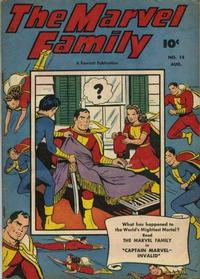 Cover Thumbnail for The Marvel Family (Fawcett, 1945 series) #14