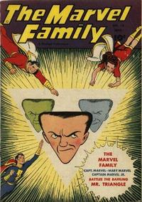 Cover Thumbnail for The Marvel Family (Fawcett, 1945 series) #15