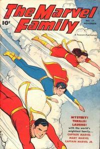 Cover Thumbnail for The Marvel Family (Fawcett, 1945 series) #17