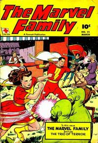 Cover Thumbnail for The Marvel Family (Fawcett, 1945 series) #21