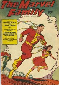 Cover Thumbnail for The Marvel Family (Fawcett, 1945 series) #22