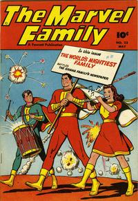 Cover Thumbnail for The Marvel Family (Fawcett, 1945 series) #23