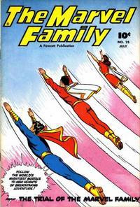 Cover Thumbnail for The Marvel Family (Fawcett, 1945 series) #25
