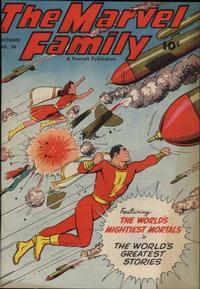 Cover Thumbnail for The Marvel Family (Fawcett, 1945 series) #28