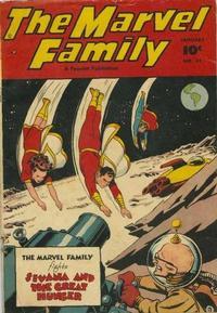 Cover Thumbnail for The Marvel Family (Fawcett, 1945 series) #31