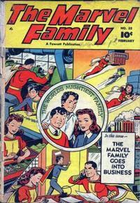 Cover Thumbnail for The Marvel Family (Fawcett, 1945 series) #32