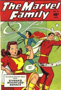 Cover Thumbnail for The Marvel Family (Fawcett, 1945 series) #34