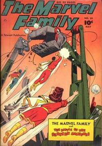Cover Thumbnail for The Marvel Family (Fawcett, 1945 series) #35