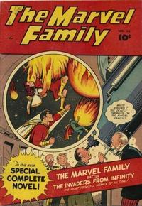 Cover Thumbnail for The Marvel Family (Fawcett, 1945 series) #36