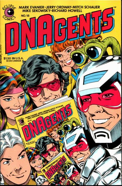 Cover for The DNAgents (Eclipse, 1983 series) #18