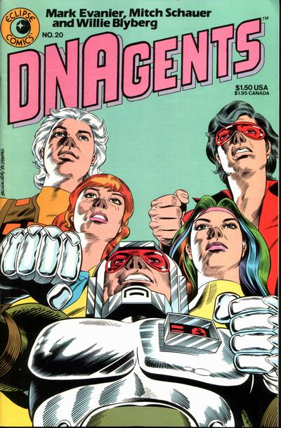 Cover for The DNAgents (Eclipse, 1983 series) #20