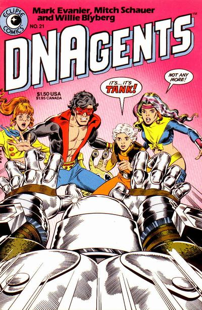 Cover for The DNAgents (Eclipse, 1983 series) #21