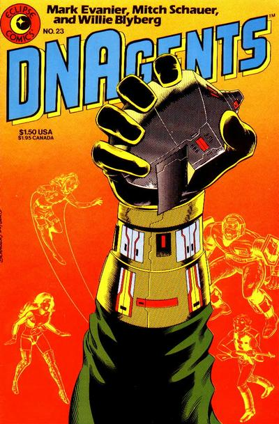 Cover for The DNAgents (Eclipse, 1983 series) #23