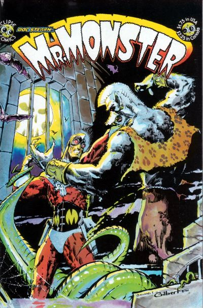 Cover for Doc Stearn...Mr. Monster (Eclipse, 1985 series) #1