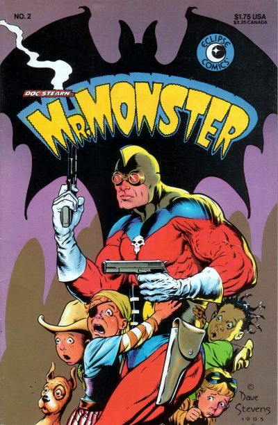 Cover for Doc Stearn...Mr. Monster (Eclipse, 1985 series) #2