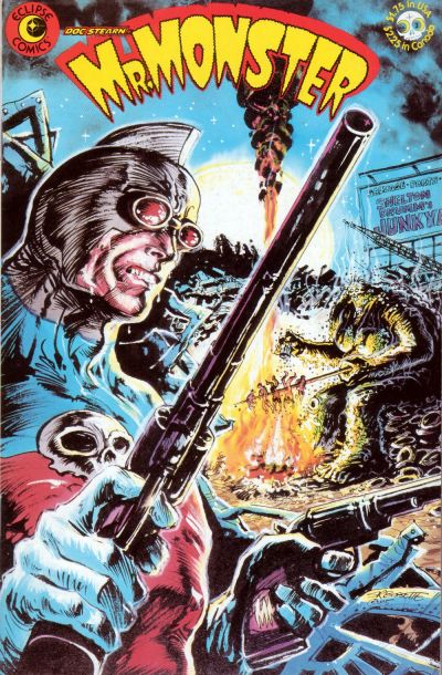 Cover for Doc Stearn...Mr. Monster (Eclipse, 1985 series) #3