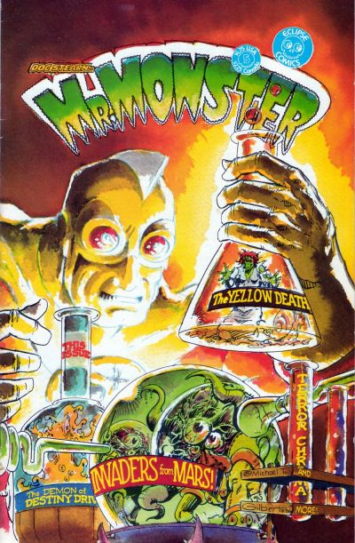 Cover for Doc Stearn...Mr. Monster (Eclipse, 1985 series) #5