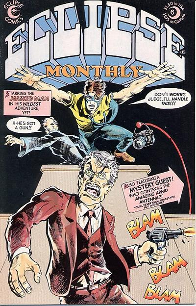 Cover for Eclipse Monthly (Eclipse, 1983 series) #6