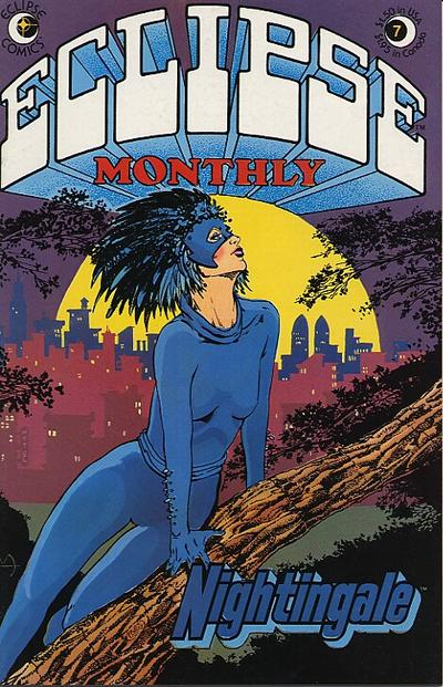 Cover for Eclipse Monthly (Eclipse, 1983 series) #7