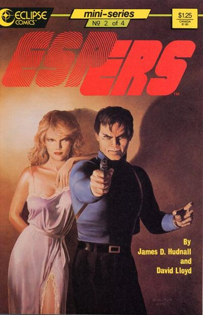 Cover for Espers (Eclipse, 1986 series) #2
