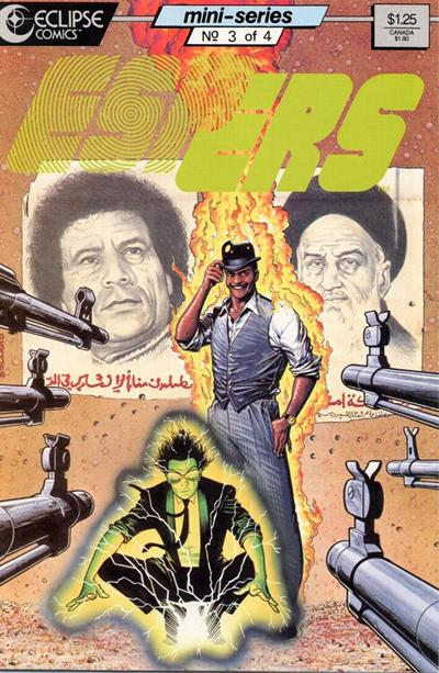 Cover for Espers (Eclipse, 1986 series) #3