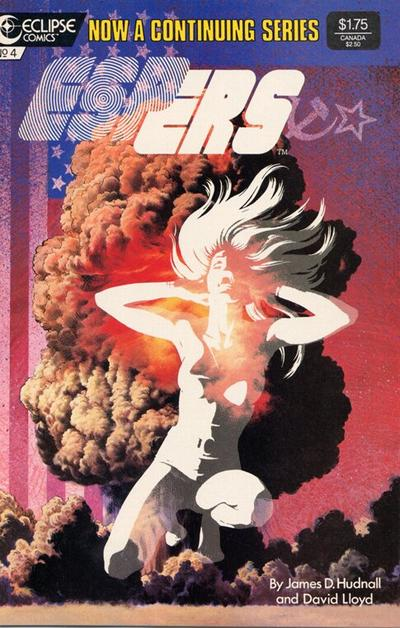 Cover for Espers (Eclipse, 1986 series) #4