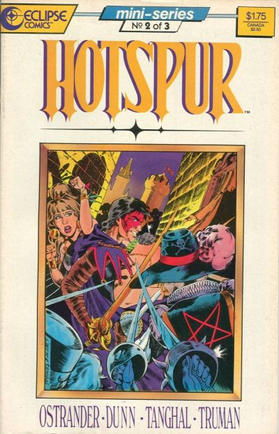 Cover for Hotspur (Eclipse, 1987 series) #2
