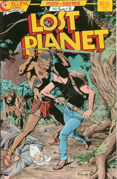 Cover for Lost Planet (Eclipse, 1987 series) #5
