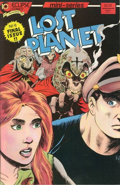 Cover for Lost Planet (Eclipse, 1987 series) #6