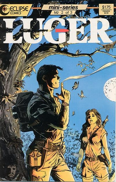Cover for Luger (Eclipse, 1986 series) #2