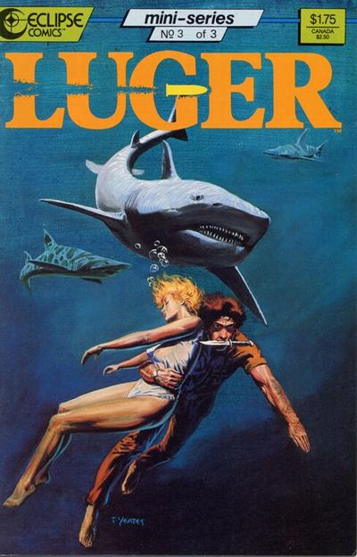 Cover for Luger (Eclipse, 1986 series) #3