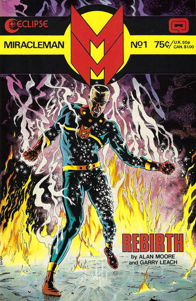 Cover for Miracleman (Eclipse, 1985 series) #1