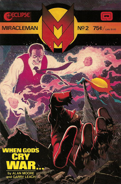 Cover for Miracleman (Eclipse, 1985 series) #2