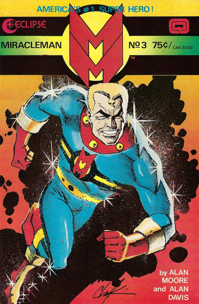 Cover for Miracleman (Eclipse, 1985 series) #3