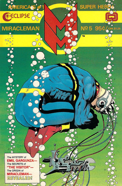 Cover for Miracleman (Eclipse, 1985 series) #5
