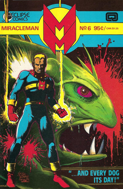 Cover for Miracleman (Eclipse, 1985 series) #6