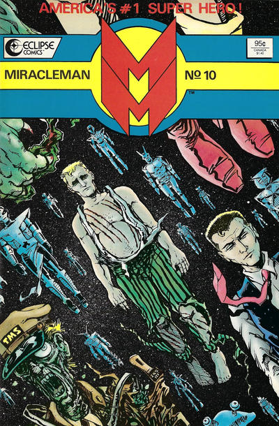 Cover for Miracleman (Eclipse, 1985 series) #10