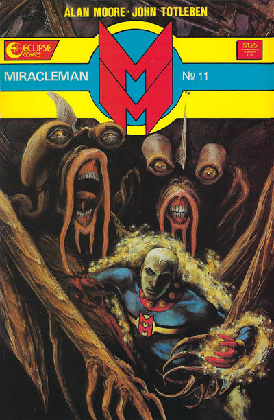 Cover for Miracleman (Eclipse, 1985 series) #11