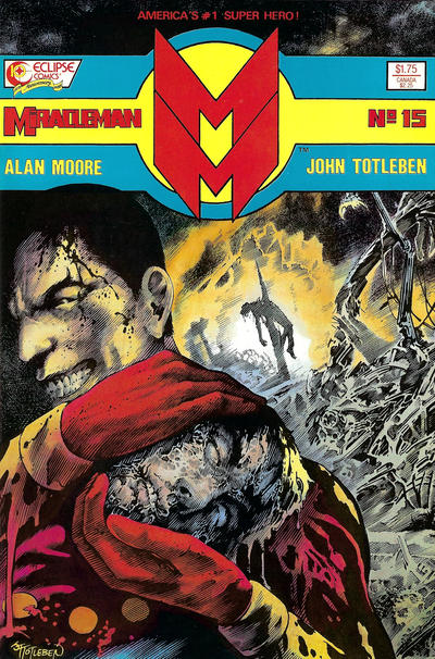 Cover for Miracleman (Eclipse, 1985 series) #15